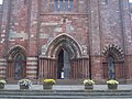 Entrance to St. Magnus Cathedral, Kirkwall - geograph.org.uk - 953043.jpg