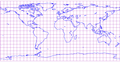 Equidistant cylindrical projection of world with grid.png