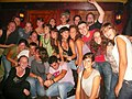 Erasmus students at a party in Groningen, Netherlands (2007).jpg