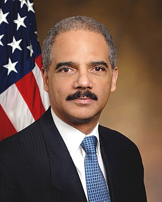 Eric Holder - Image: Eric Holder official portrait