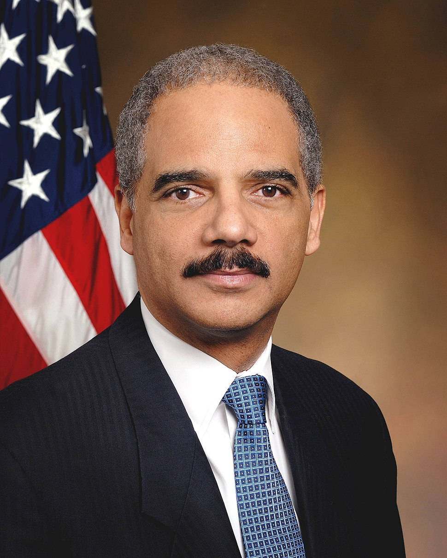 Eric Holder official portrait