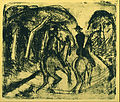 Ernst Ludwig Kirchner - Reiter im Grunewald - Google Art Project.jpg