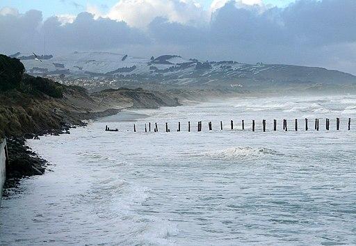 ErosionStClair beach