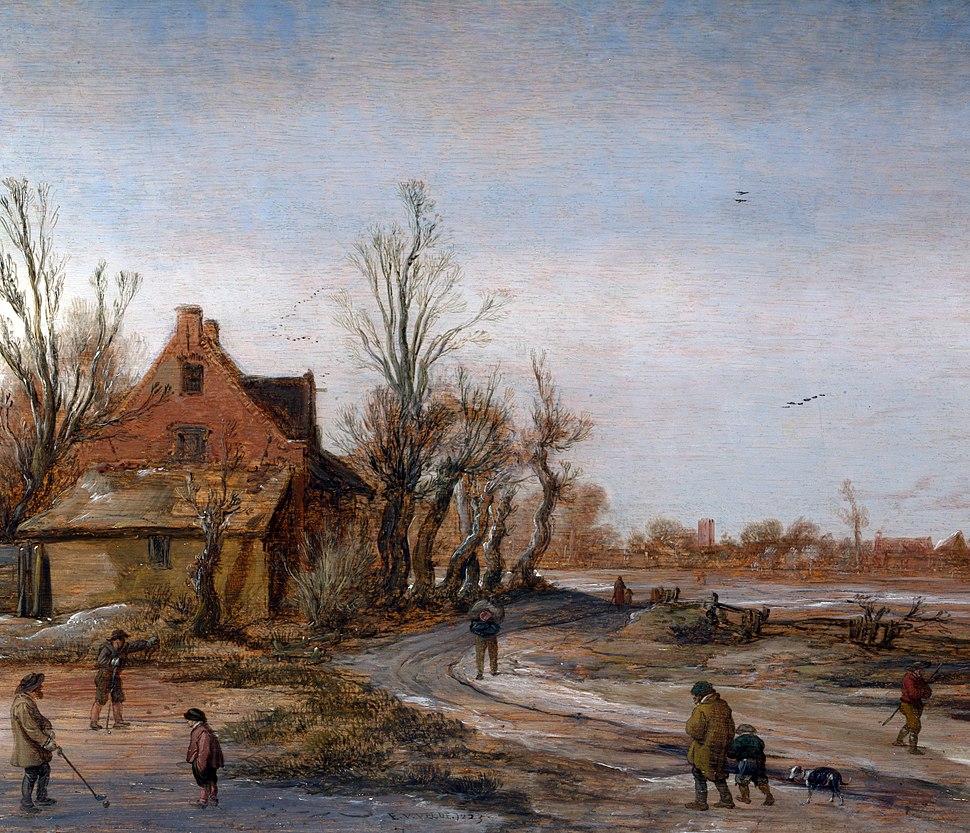 Esaias van de Velde Winter Landscape