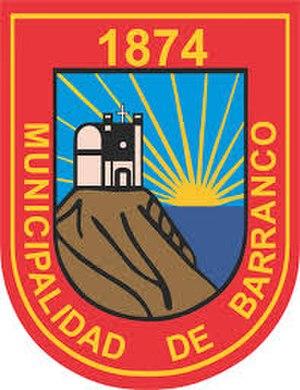 Barranco District - Image: Escudo de Barranco