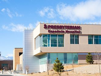 Española, New Mexico - The newly expanded Presbyterian Hospital, additions added over 43 new beds
