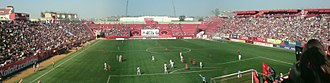 Club Tijuana - A view inside Caliente Stadium in 2009.