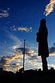 Estatua del General Santander Contraluz.JPG