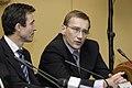 Estlands premiarminister Juhan Parts och och Danmarks statsminister Anders Fogh Rasmussen (Bilden ar tagen vid Nordiska radets session i Oslo, 2003).jpg