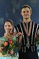 European 2011 Vera BAZAROVA Yuri LARIONOV.jpg