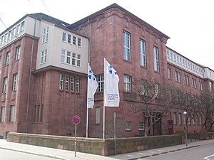 Protestant Church in Baden - The Evangelical Superior Church Council (EOK) in Karlsruhe.
