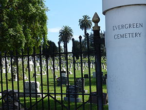 Evergreen Cemetery (Oakland, California) - Evergreen Cemetery
