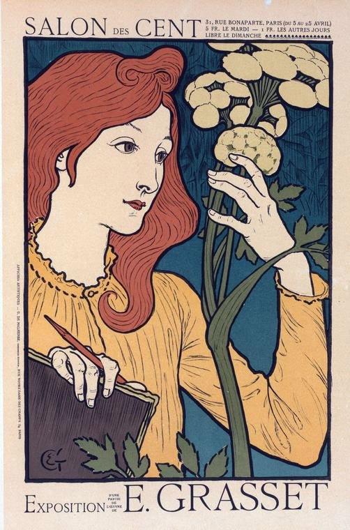 Exposition Eugène Grasset au Salon des Cent
