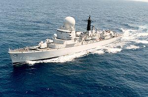 Tromp-class frigate - Image: F801 Tromp ca 1995