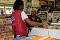 FEMA - 41061 - Mitigation Outreach Supervisor at Store Display.jpg