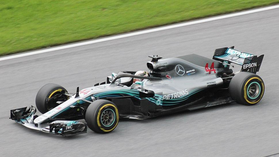 FIA F1 Austria 2018 Nr. 44 Hamilton