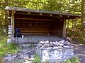 FLT M32 1.5 mi - Beaver Meadow Lean-to, 9x12' interior, fire place, outhouse, piped spring - panoramio.jpg