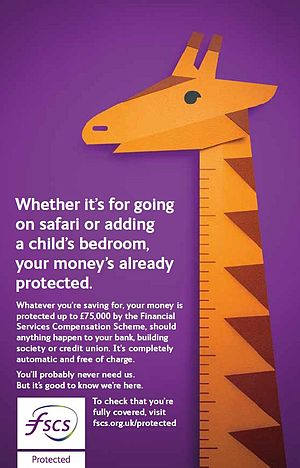 Financial Services Compensation Scheme - FSCS Advertising Campaign 2016