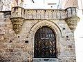 Façade et portail de la maison canoniale. (XV è ).jpg