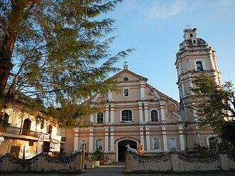 Aguilar, Pangasinan - Image: Facade of Saint Joseph the Patriarch Parish Church, Aguilar, Pangasinan