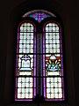 Faedo, chiesa del Santissimo Redentore, interno - Vetrate 05.jpg