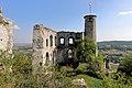 Falkenstein (Niederösterreich) - Burg, Palas und Kapellenturm.JPG