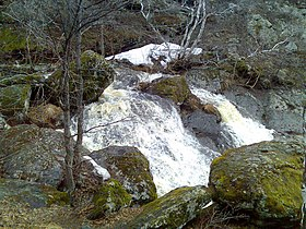 Falls on the river Mogak (Abzelilovsky District)3.jpg