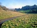 Farm road on Dumbleton Hill - geograph.org.uk - 1672338.jpg