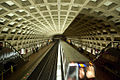 Farragut West Metro station, incoming train.jpg