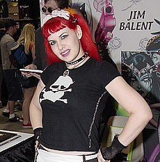 Fauve Holly-Comic Con 2006.jpg