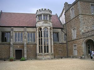 Robert Waldegrave - Fawsley Hall, home of Sir Richard Knightley, where Robert Waldegrave printed Martin Marprelate's Epitome on a secret press