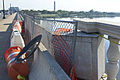 Feb 25 2013 accident damage - Arlington Memorial Bridge - 2013-09-30 (10937349406).jpg