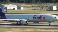 File:FedEx N613FE MD-11 Takeoff Portland Airport (PDX).ogv