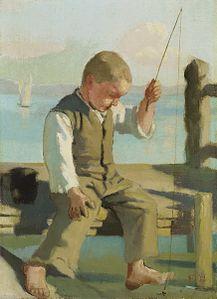 Ferdinand Hodler - Der kleine Fischer, um 1879.jpg