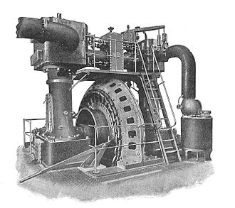 Ferranti - Ferranti steam generating set, c. 1900