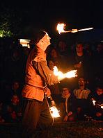 Feuershow – Hörnerfest 2014 04.jpg