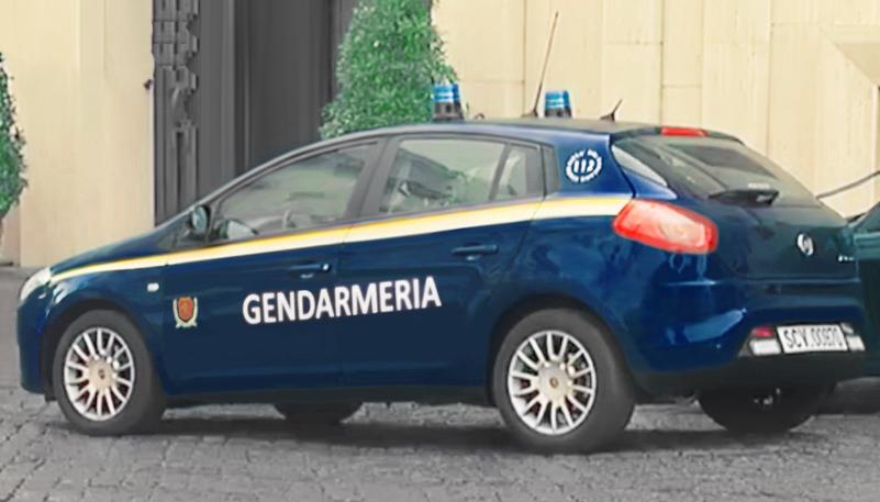 Fiat Bravo Gendarmeria Vaticana