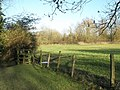 Field behind Mary and All Saints, Droxford - geograph.org.uk - 1124622.jpg