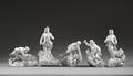 Figurer. 5 st bergsmän - Hallwylska museet - 87289.tif