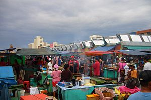 Overseas Filipinos - Filipino Market in Kota Kinabalu, Sabah, Malaysia.