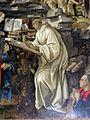 Filippino Lippi, Apparizione della Vergine a san Bernardo, 1482-86, 06.JPG
