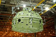 Final wield of first space bound Orion