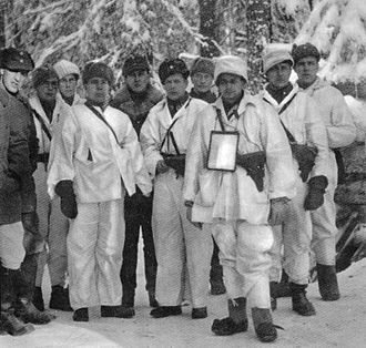 Battle of Kollaa - Finnish military leaders of the battle of Kollaa.