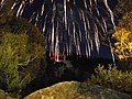 Fireworks over the snow - panoramio.jpg