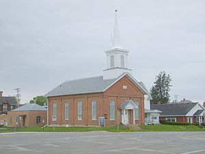 First Baptist Church of West Union - Image: First Baptist Church of West Union Fayette County Iowa 01
