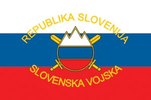 Naprej, zastava slave - Flag of the Slovenian Armed Forces