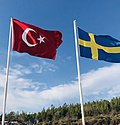 Flags of Turkey and Sweden (cropped).jpg