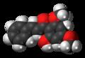 Flavokavain B molecule spacefill.png