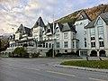 Fleischer's Hotel, Evangervegen E16, Voss, Norway 2016-10-25 02.jpg
