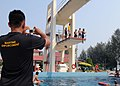 Flickr - Official U.S. Navy Imagery - Members of the Malaysia Maritime Enforcement Agency demonstrate newly learned techniques during a survival swimming and dive technique-training event..jpg